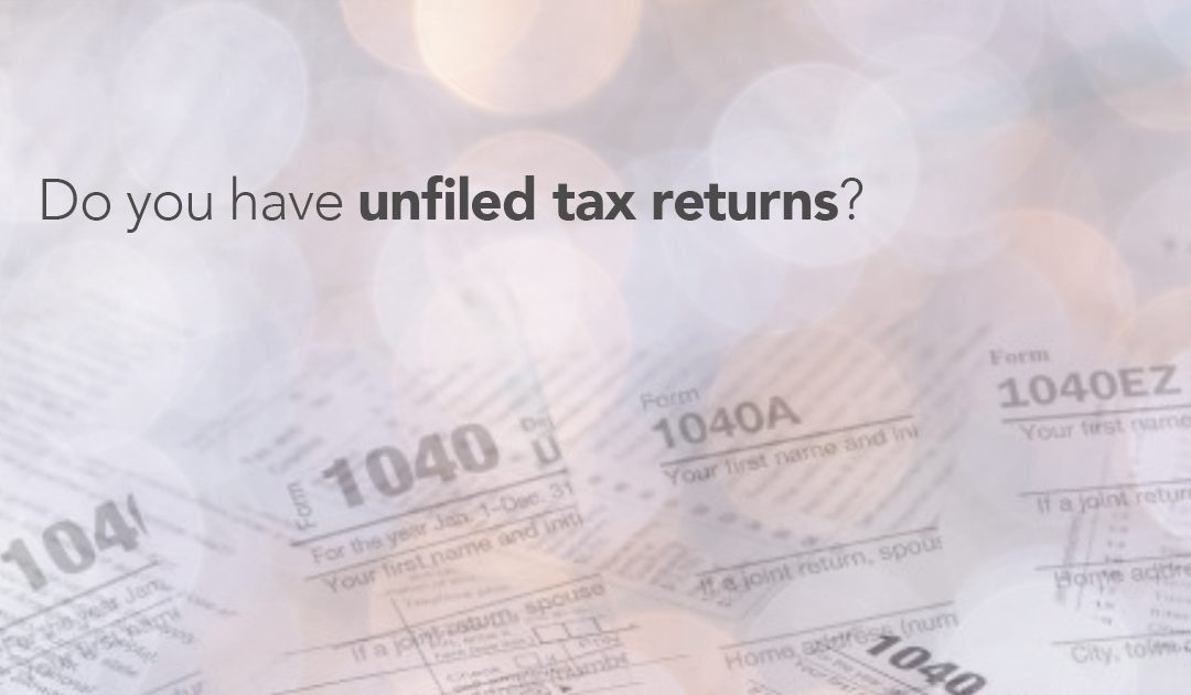 How to Handle Unfiled Tax Returns